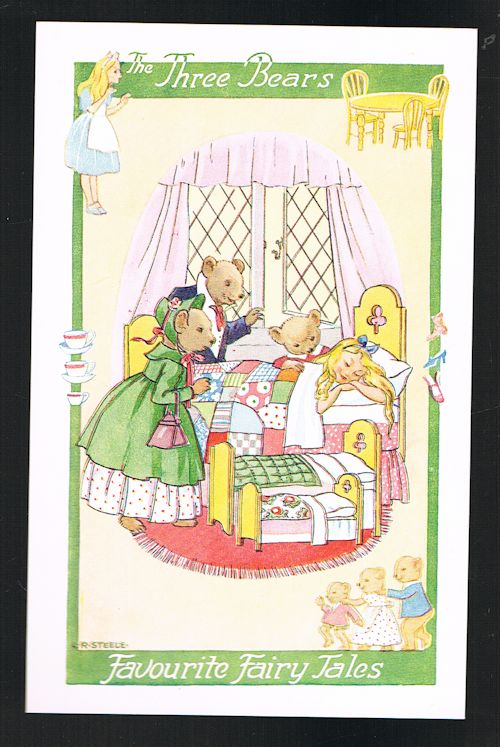 Image for The Three Bears Fairy Tale Postcard