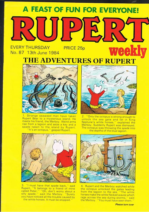 Image for Rupert Weekly No.87 (13th June 1984)
