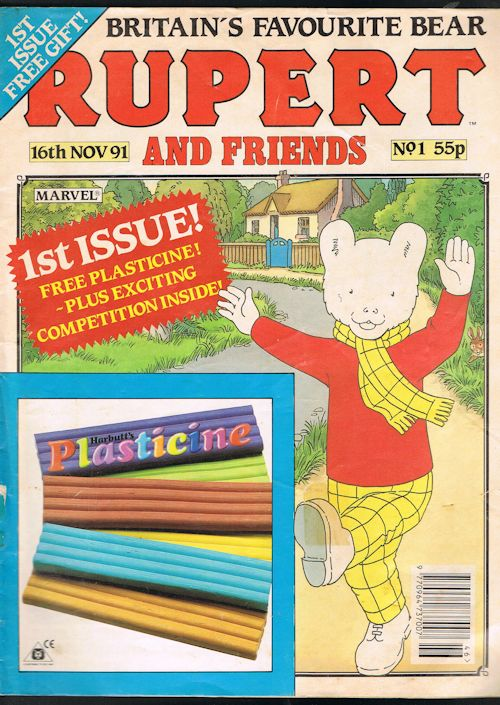 Image for Rupert and Friends No.1 (16th Nov 1991)