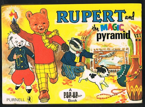 Image for Rupert and the Magic Pyramid Pop-Up Book
