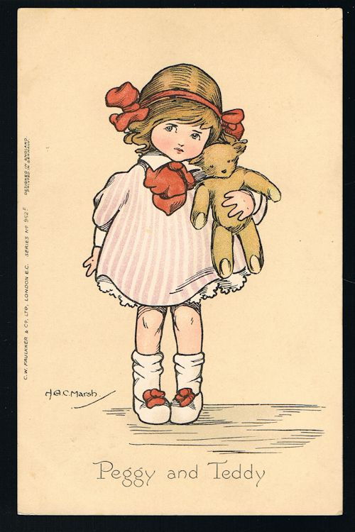 Image for Peggy and Teddy Postcard