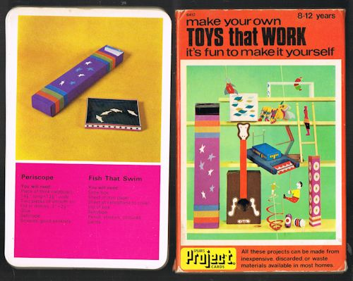 Image for Make Your Own Toys That Work (Spear's Project Cards)
