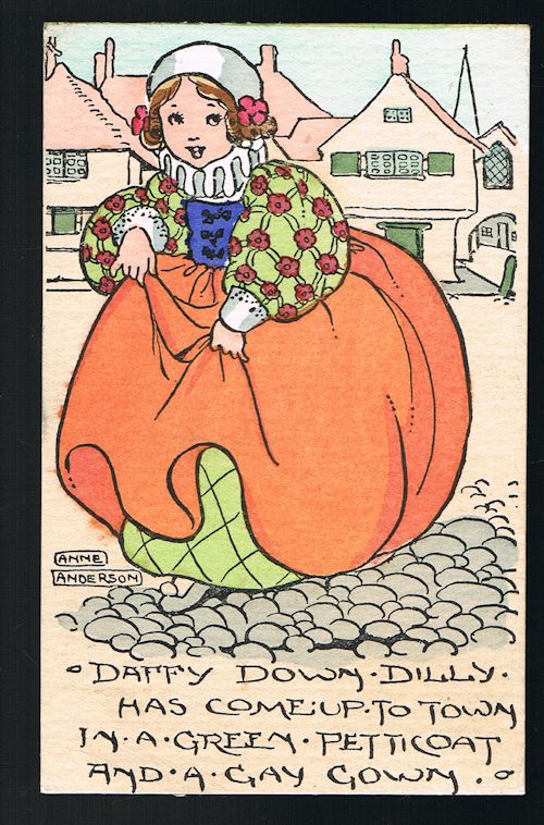 Image for Daffy Down Dilly Postcard