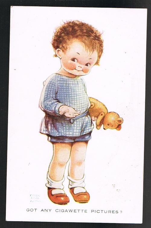 Image for Got Any Cigawette Pictures Teddy Bear Postcard