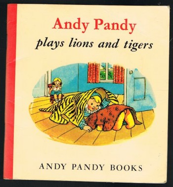 Image for Andy Pandy Plays Lions and Tigers