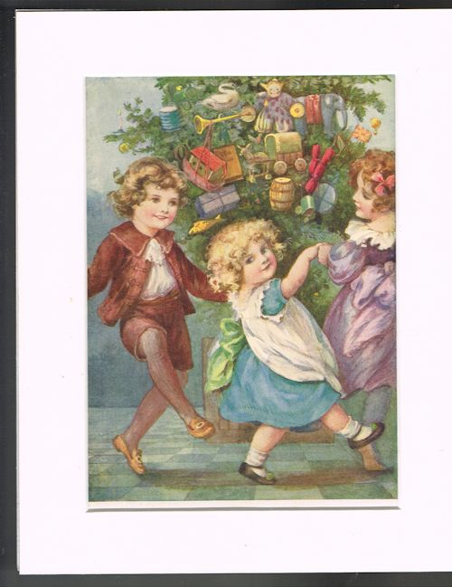 Image for The Christmas Tree (Mounted Illustration from 'Holiday Times')