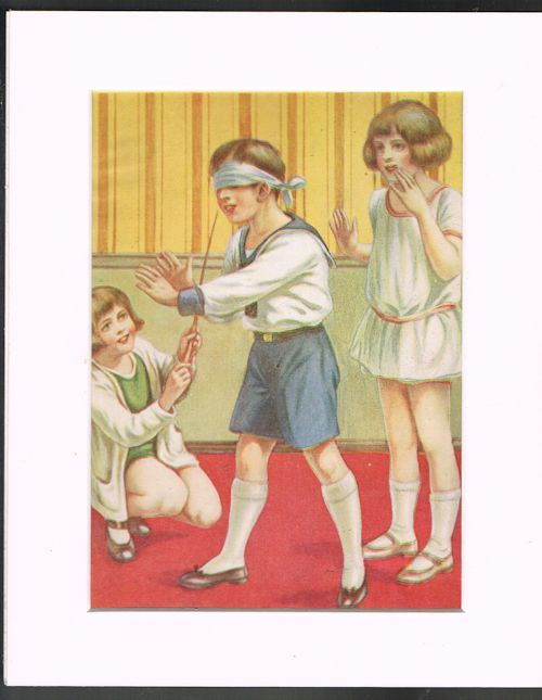 Image for Blind Man's Buff (Mounted Illustration from 'Our Darlings')