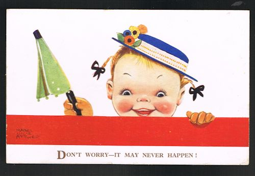 Image for Don't Worry - It May Never Happen Postcard