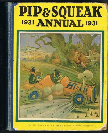 Image for Pip & Squeak Annual 1931