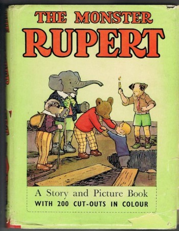 Image for The Monster Rupert - Picture and Story Book with Colour Cut-Outs