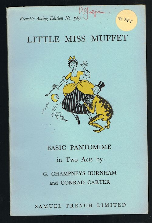 Image for Little Miss Muffet: A Basic Pantomime in Two Acts