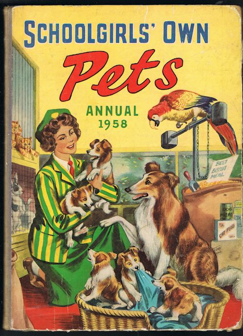 Image for Schoolgirls' Own Pets Annual 1958