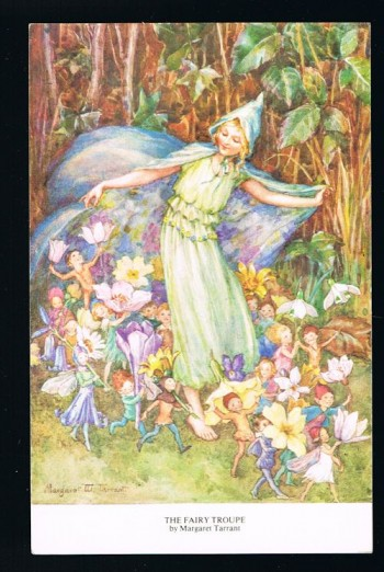 Image for The Fairy Troupe Postcard