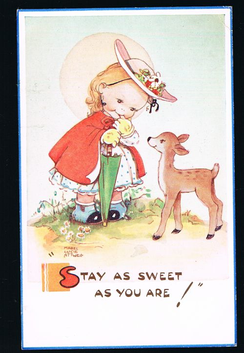 Image for Stay as Sweet as You Are Postcard
