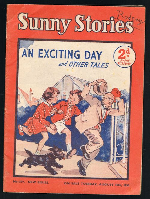 Image for Sunny Stories: An Exciting Day & Other Tales (No. 579: New Series: Aug 18th, 1953)