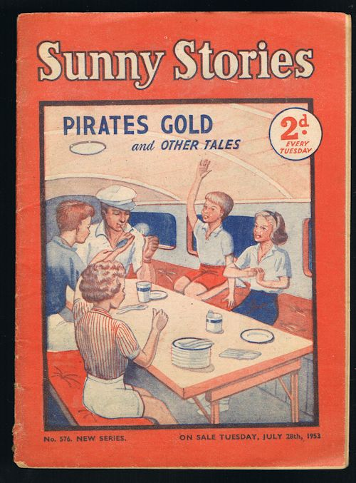Image for Sunny Stories: Pirates Gold & Other Tales (No. 576: New Series: Jul 28th, 1953)