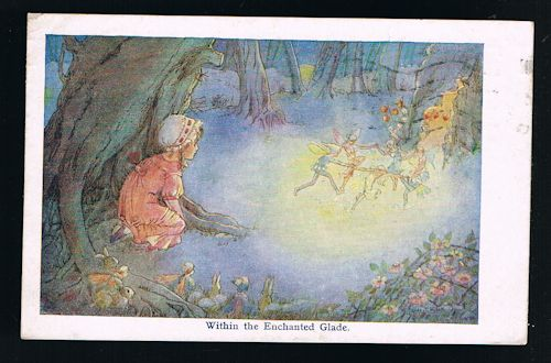 Within the Enchanted Glade Postcard