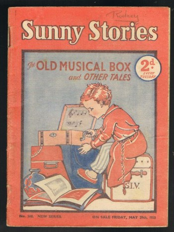 Image for Sunny Stories: The Old Musical Box & Other Tales (No. 568: New Series: May 29th, 1953)