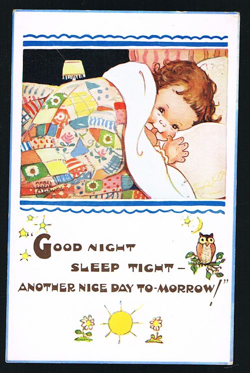 Image for Good Night Sleep Tight Postcard