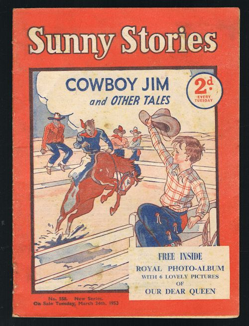 Image for Sunny Stories: Cowboy Jim & Other Tales (No. 558: New Series: March 24th, 1953)