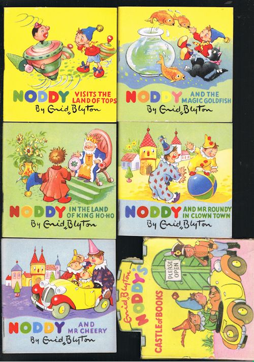 Noddy's Castle of Books