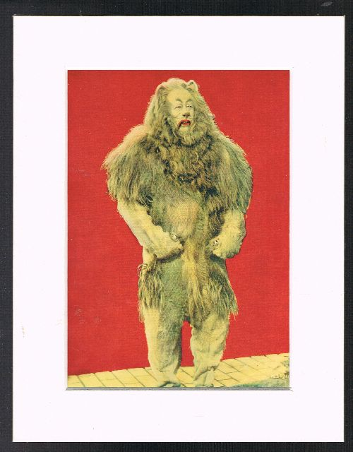 Image for The Cowardly Lion (Mounted Plate from 'The Wizard of Oz' By L.Frank Baum]