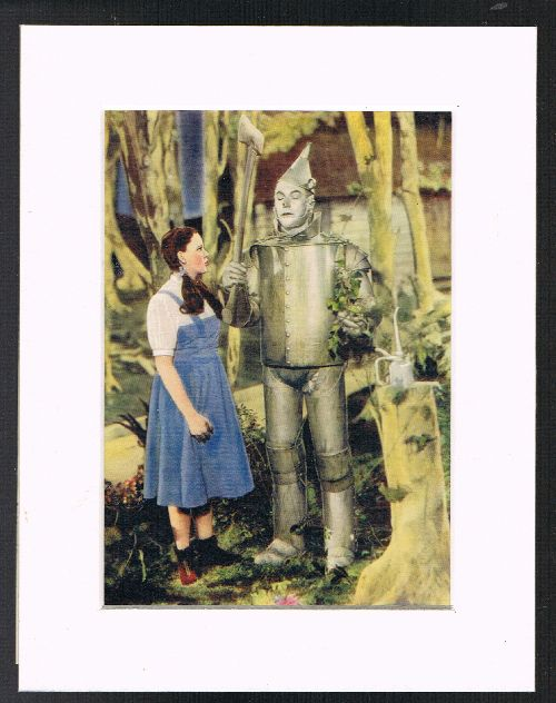 Image for Dorothy Oils the Tin Woodman (Mounted Plate from 'The Wizard of Oz' By L.Frank Baum]