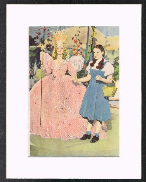 Image for Dorothy & the Good Witch of the North (Mounted Plate from 'The Wizard of Oz' By L.Frank Baum]