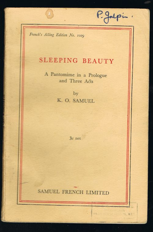 Image for Sleeping Beauty: A Pantomime in Three Acts