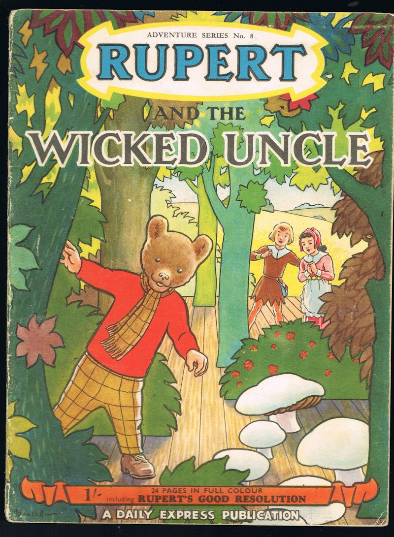 Image for Rupert and the Wicked Uncle - Adventure Series No.8