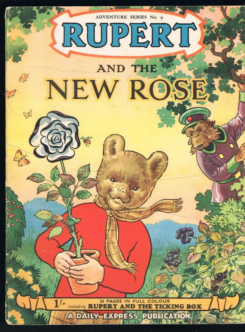 Image for Rupert and the New Rose - Adventure Series No.9
