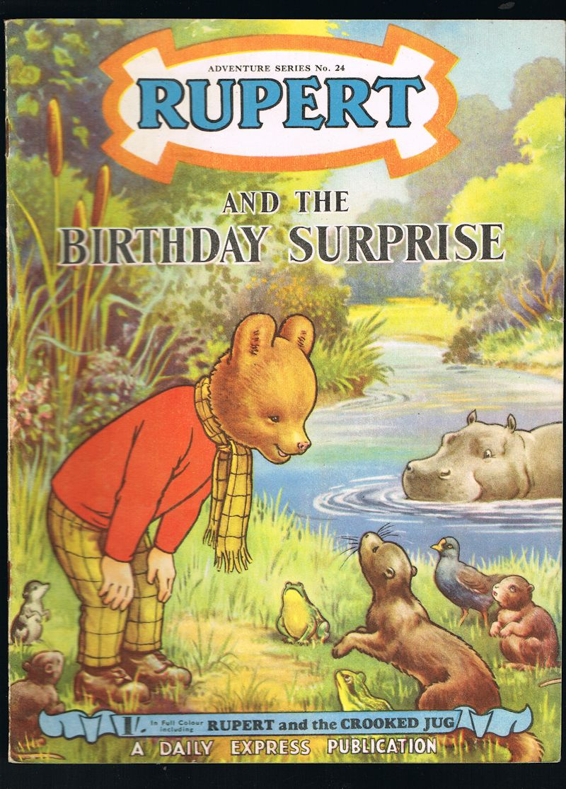 Image for Rupert and the Birthday Surprise - Adventure Series No.24