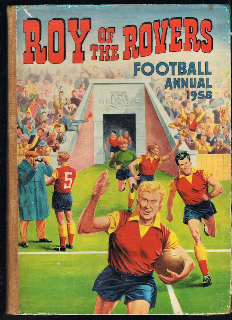 Image for Roy of the Rovers Football Annual 1958