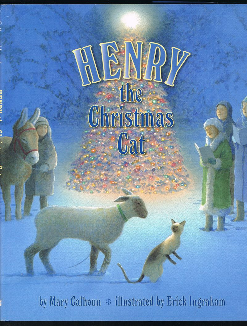 Image for Henry the Christmas Cat